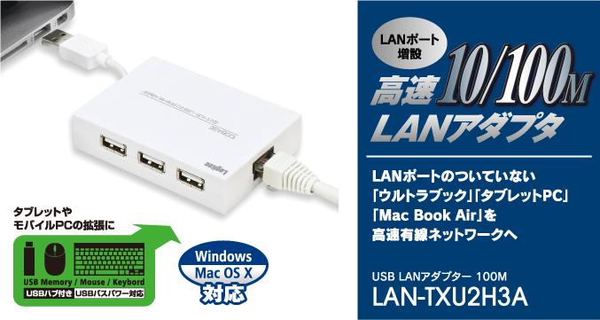 DRIVER FOR LOGITEC LAN-TXU2H3A